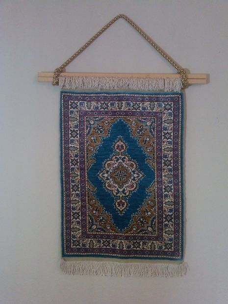 Hanging Fringed Rug On Wall Home Pinterest Rugs Wall And Wall