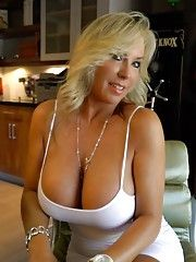 Busty Housewife Having Fun