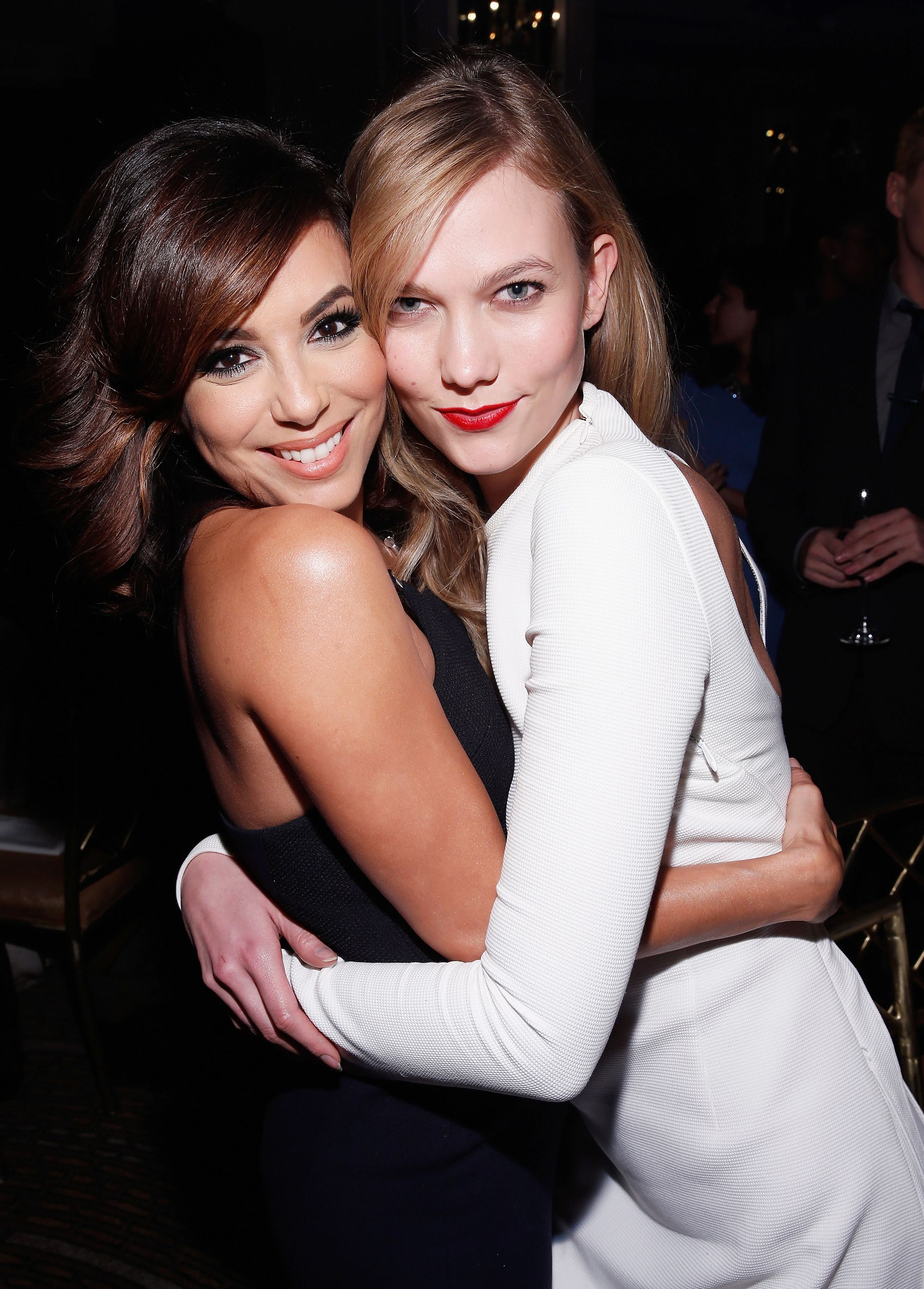 Eva Longoria Celebrates Twin Karlie Klosss Birthday