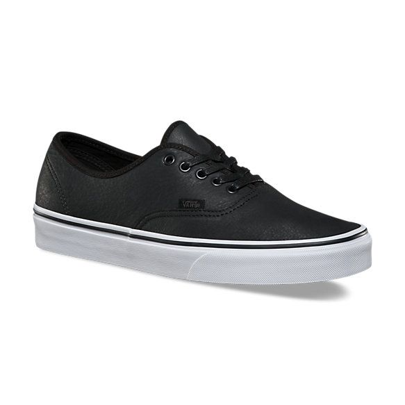 c64f4c8a18 Premium Leather Authentic Vans Shoes