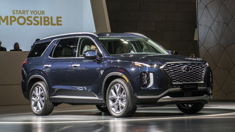 Hyundai Palisade Suv Debuts As The Largest Hyundai Ever Built Suv