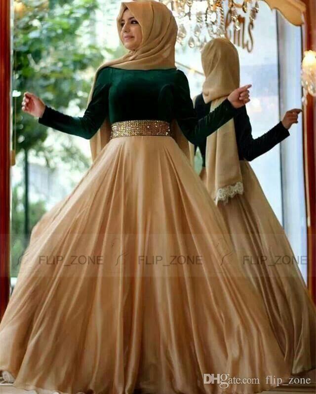 dark-green-velvet-2015-muslim-evening-dresses.jpg (640×798 ...