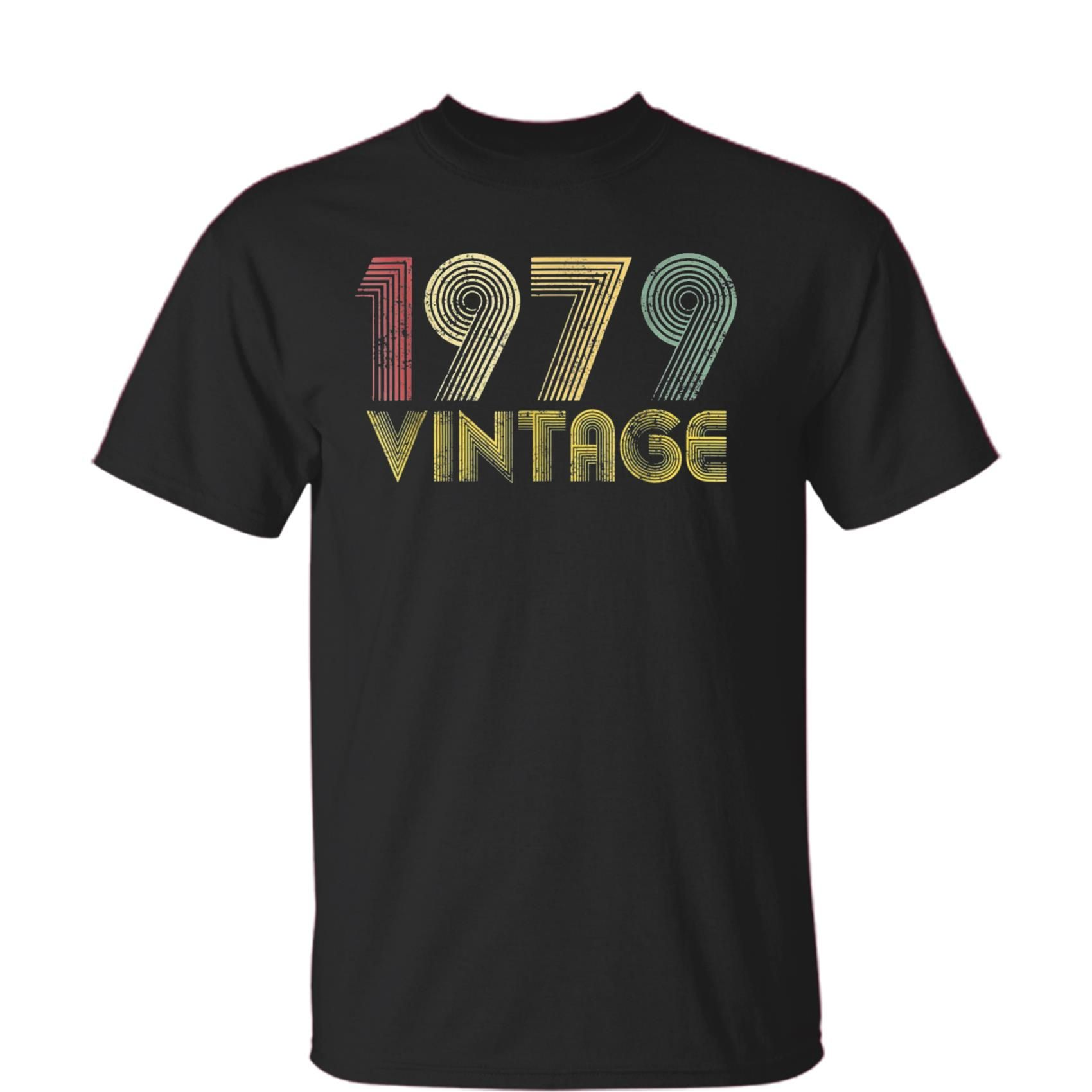 Vintage 1979 40th Birthday Gift 40 Years Old Funny T Shirt Best Gifts For Men Women Kids
