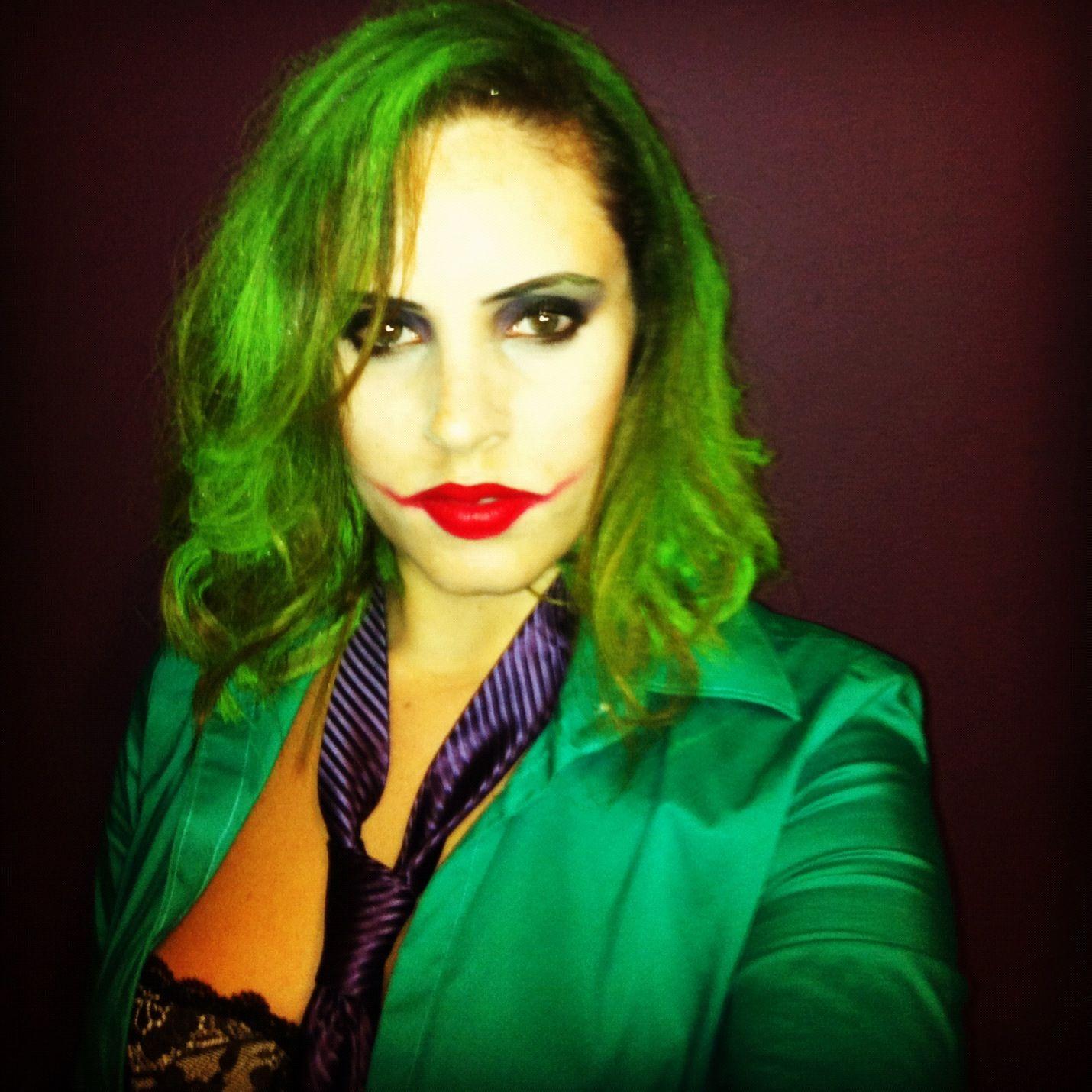 female joker - Joker Halloween Costume For Females