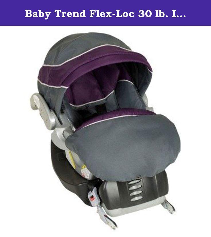 Baby Trend Flex Loc 30 Lb Infant Car Seat Elixir Help Protect