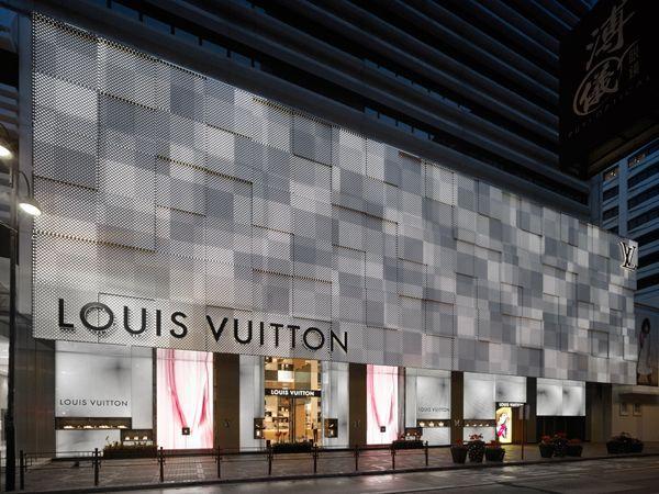 Kumiko Inui - Louis Vuitton Hong Kong Canton Road   Store   Facade ... 554944e4974