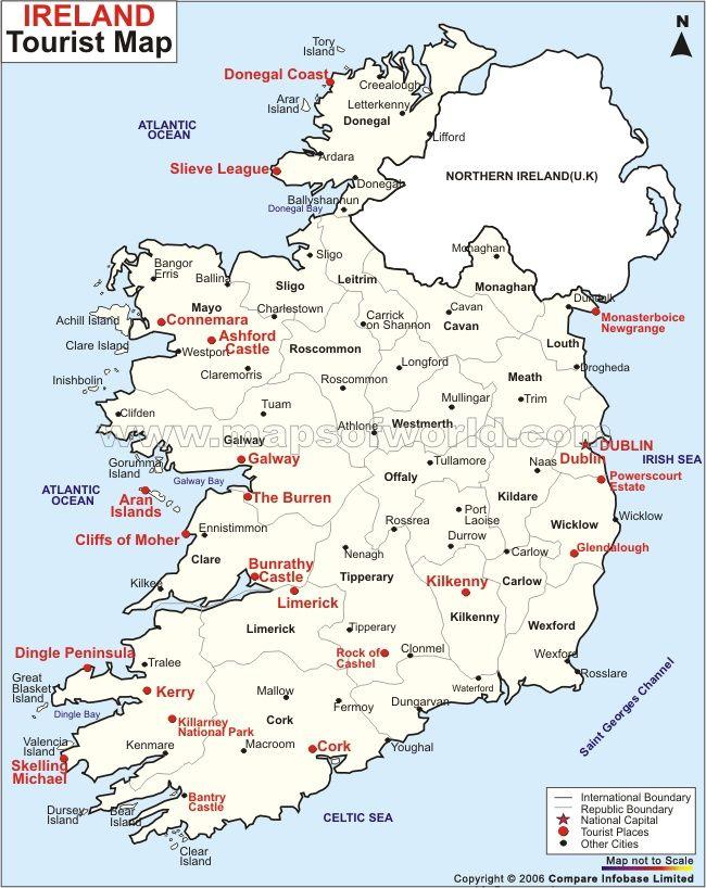 Letterkenny Ireland Map.Ireland Travel Map My Infamous Great Great Grandmother Lulu