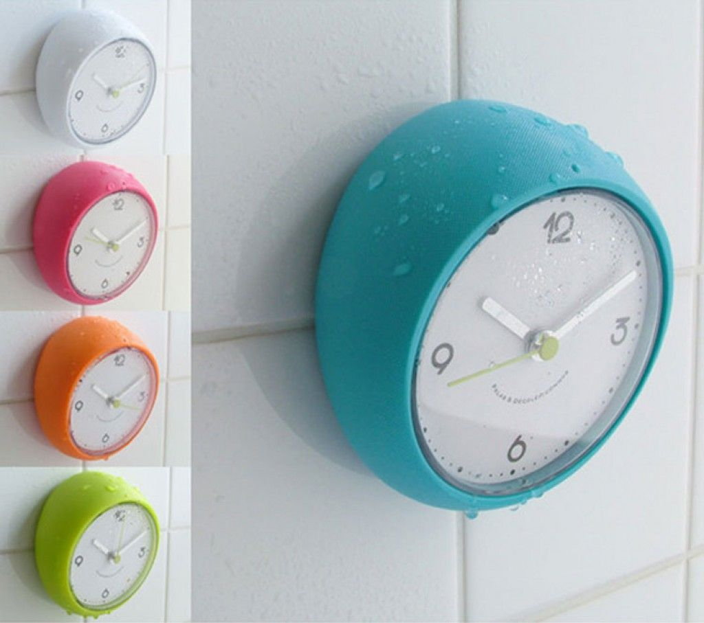 Clocks for bathroom wall - Get A Bathroom Clock And Limit Your Time Spent There