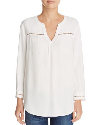 Soft Joie Farna Stitched Shirt   Bloomingdale's