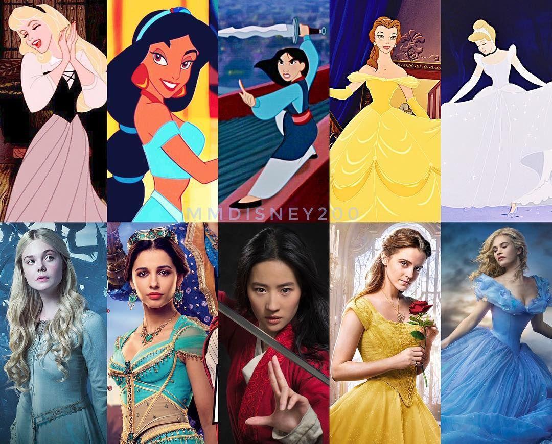 The Live Action Disney Princesses thus far 👑💖 We already ...