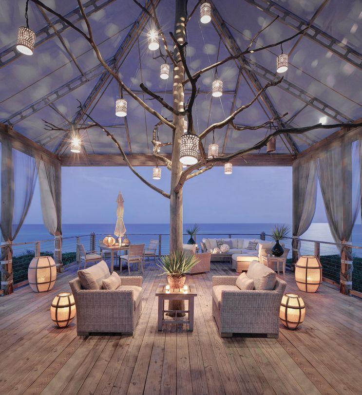 Magical Oceanside Patio Design - 50 Best Outdoor Patio Design Ideas   http://homebnc.com/best-outdoor-patio-design-ideas/   #patio #ideas #decor #decoration #idea #outdoor #home #homedecor #lifestyle #furniture #modern #design #homebnc