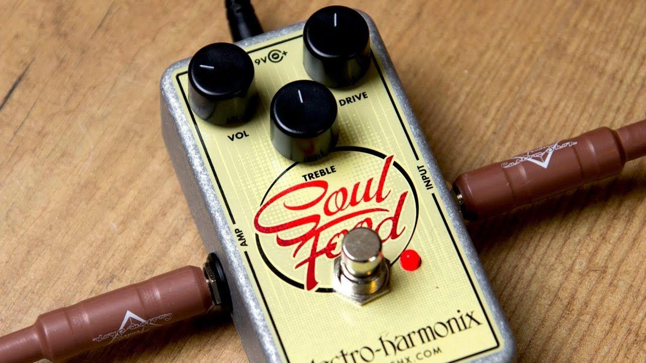 Electro harmonix soul food transparent overdrive soul