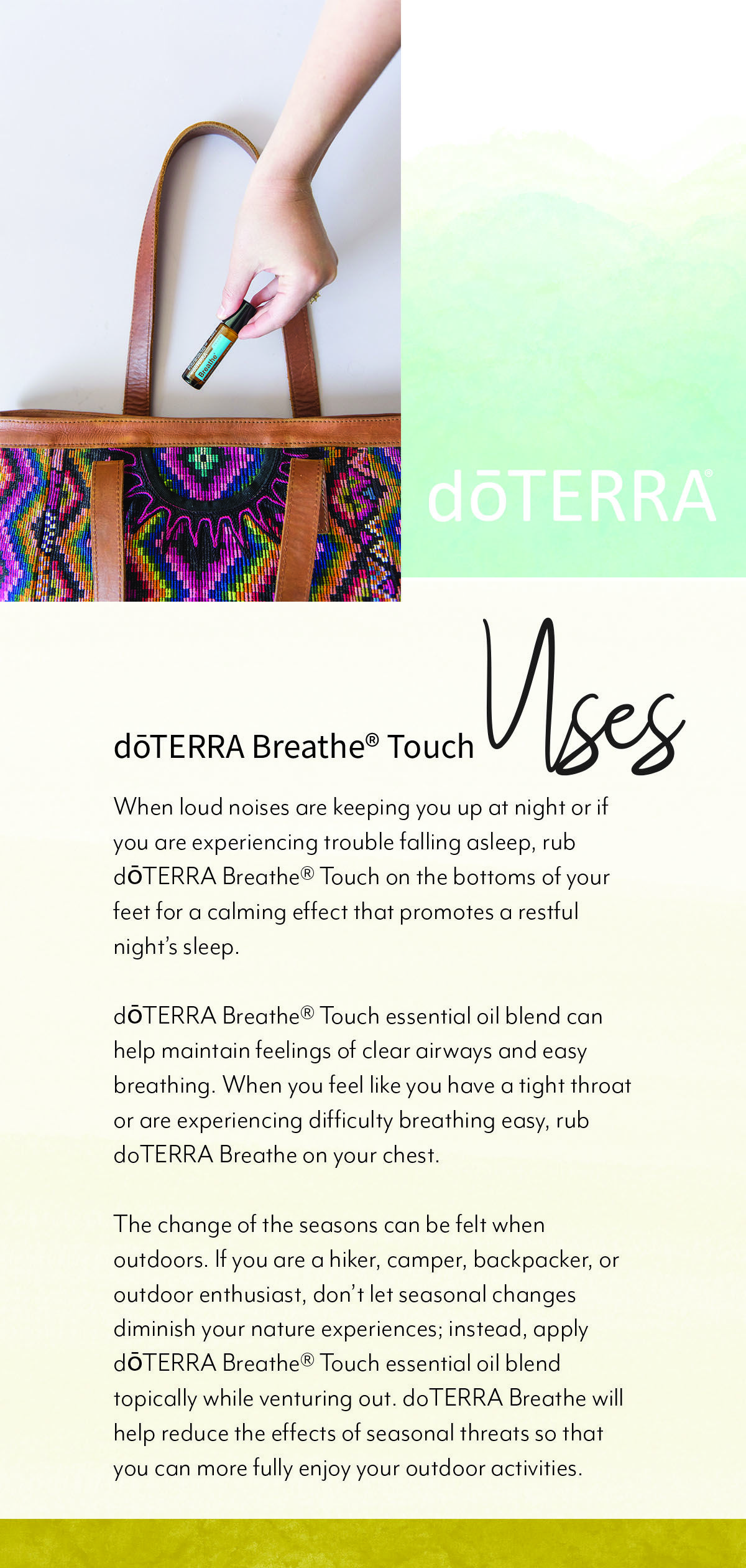 Dōterra Breathe Uses And Benefits Doterra Breathe Essential