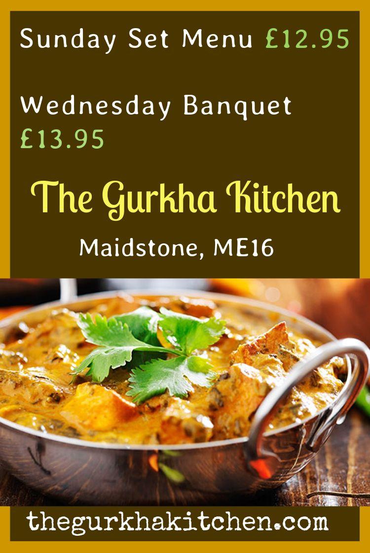 The Gurkha Kitchen, Maidstone West Railway Station