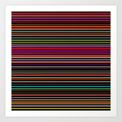 Re-Created Channels xxiv #Art #Print by #Robert #S. #Lee - $18.00