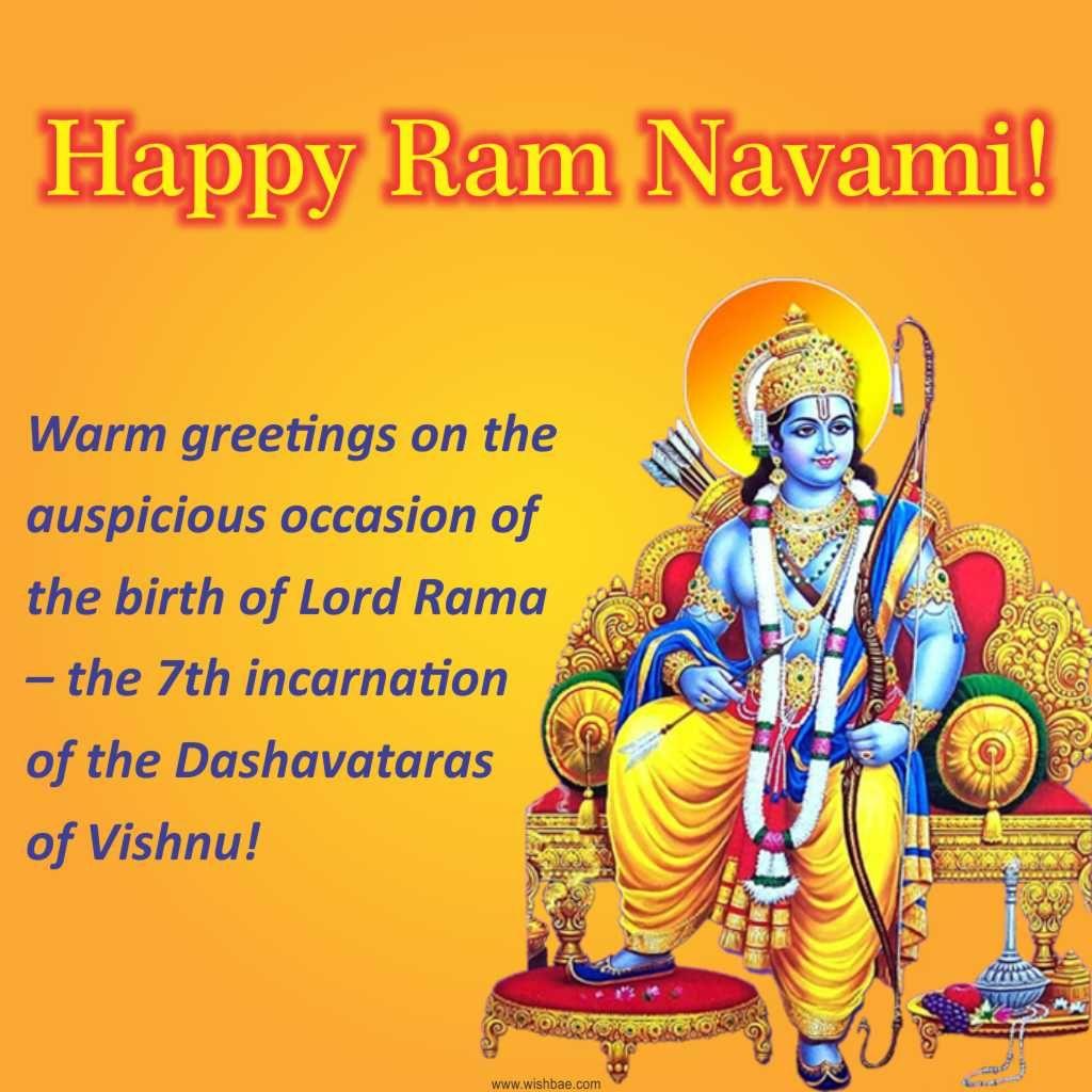 Happy Ram Navami Sri Rama Navami Wishes Images 2018 Sri Rama