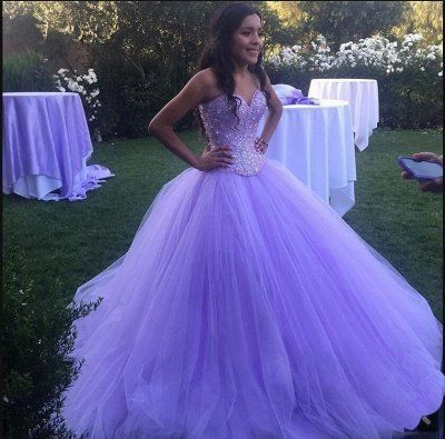 Charming Purple Sweetheart Ball Gown Beadings Quince Dresses | Pretty Sweet 16 Dresses Long #masqueradeballgowns