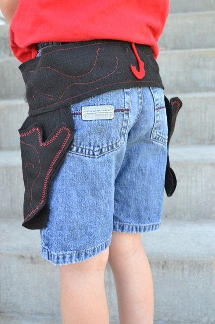 Little boy gun holsters