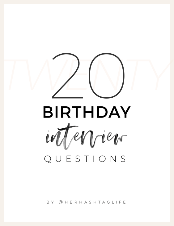 20 Birthday Interview Questions for a 5 Year Old in 2020