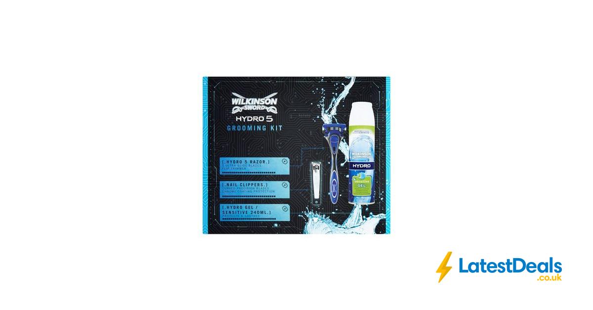 Wilkinson Sword Hydro 5 Grooming Kit Gift Set Half Price 3 75 At Tesco Grooming Kit Wilkinson Sword