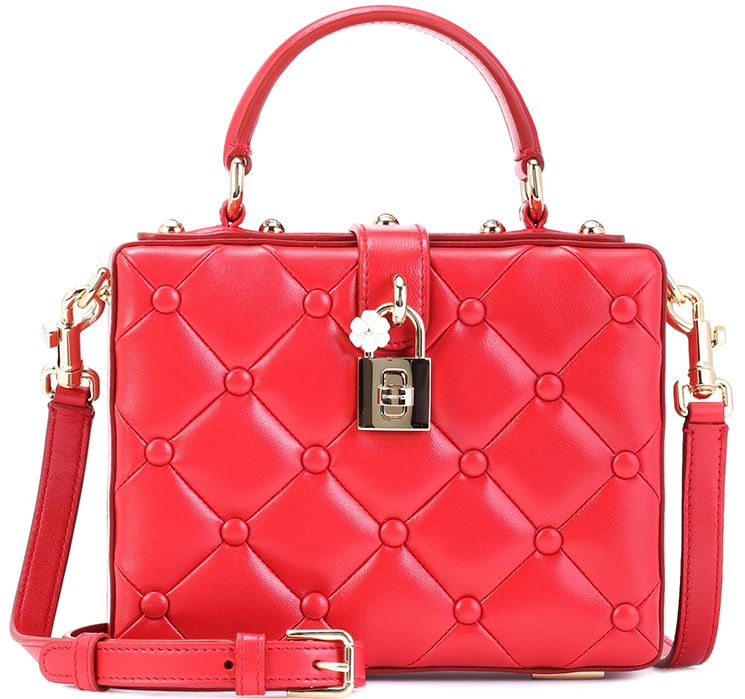 8339ca4172 Dolce Gabbana Quilted Dolce Box Bag Dolce And Gabbana Handbags, Dolce &  Gabbana, Red