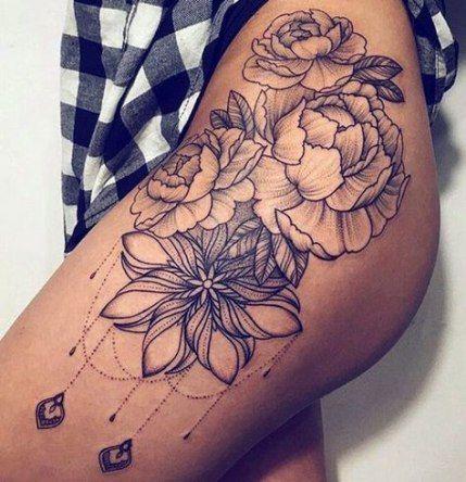 53 Trendy Ideas For Tattoo Ideas Female Thigh For Women Thigh Tattoo Designs Thigh Tattoos Women Thigh Tattoo