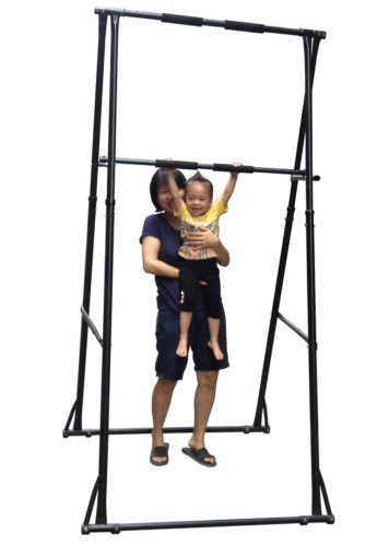 746df1132fe free standing pull up bar kt1.ht for home indoor outdoor