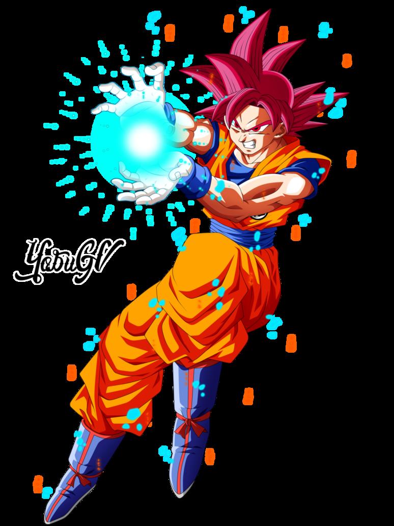 Goku Ssj Dios V Personajes De Goku Personajes De Dragon Ball Goku
