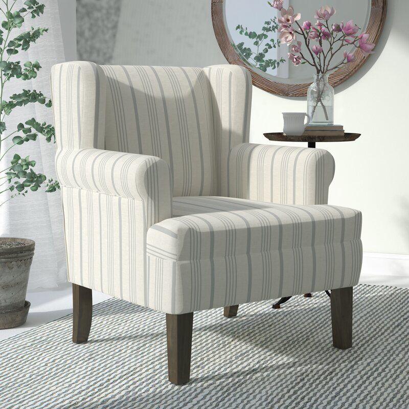 Laurel Foundry Modern Farmhouse London Wingback Chair