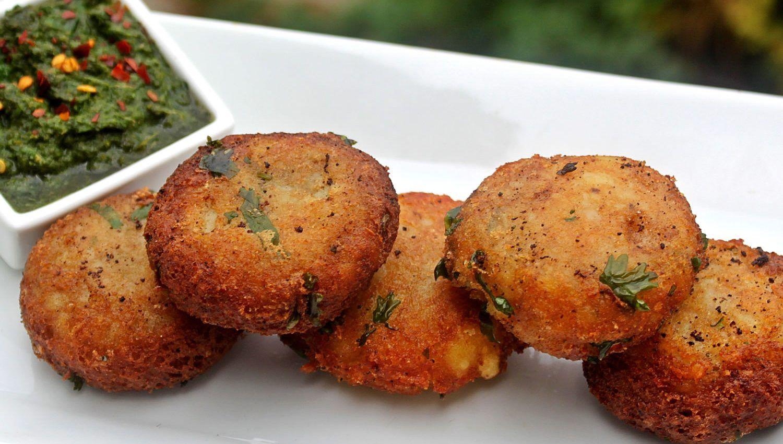 Aloo Tikki | Croquetas de patata indias | Cocina India | Pinterest ...