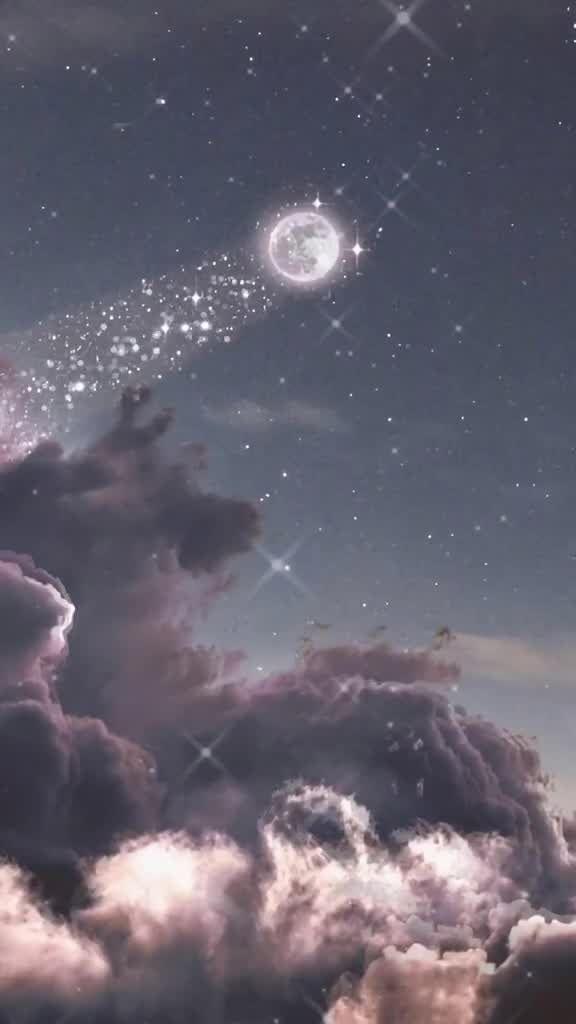 Schwarzer Himmel mit Wolken   Iphone wallpaper sky, Dark wallpaper, Su