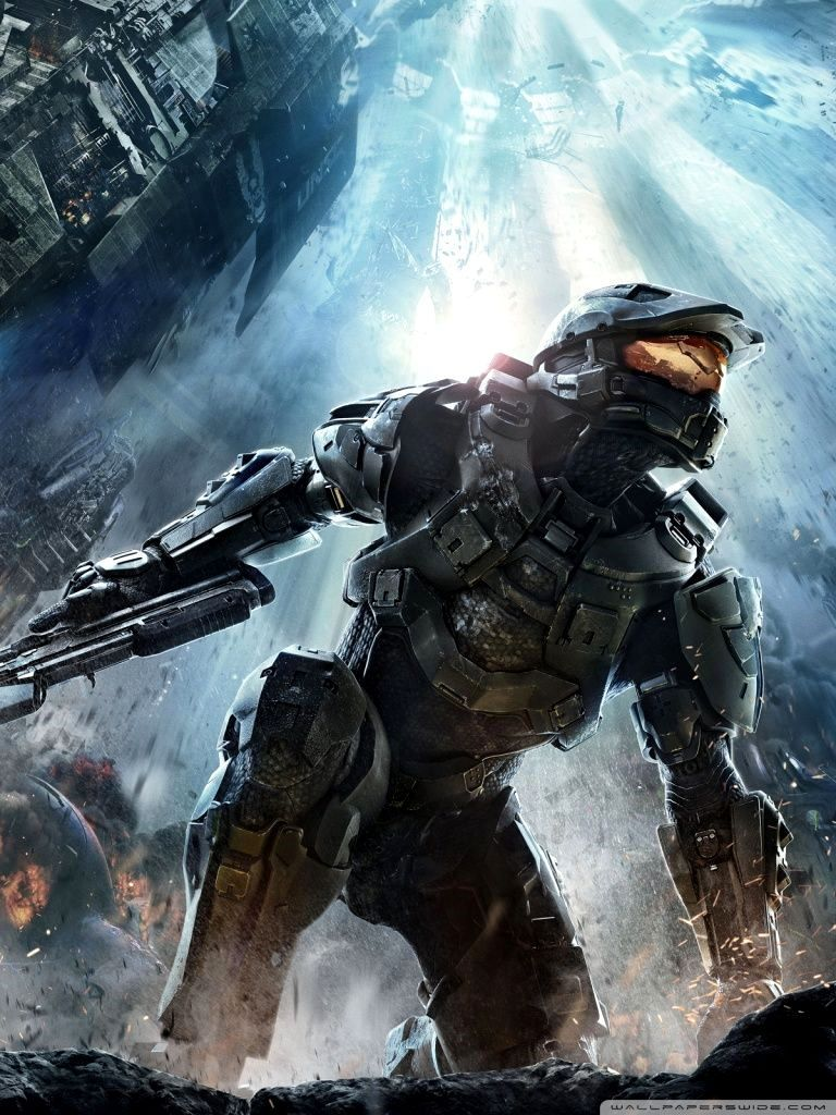 Halo Wallpaper 4k Phone Trick In 2020 Wallpaper Halo Phone Backgrounds