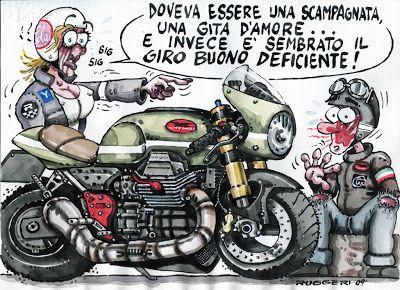Racing Cafè: Ruggeri's comics
