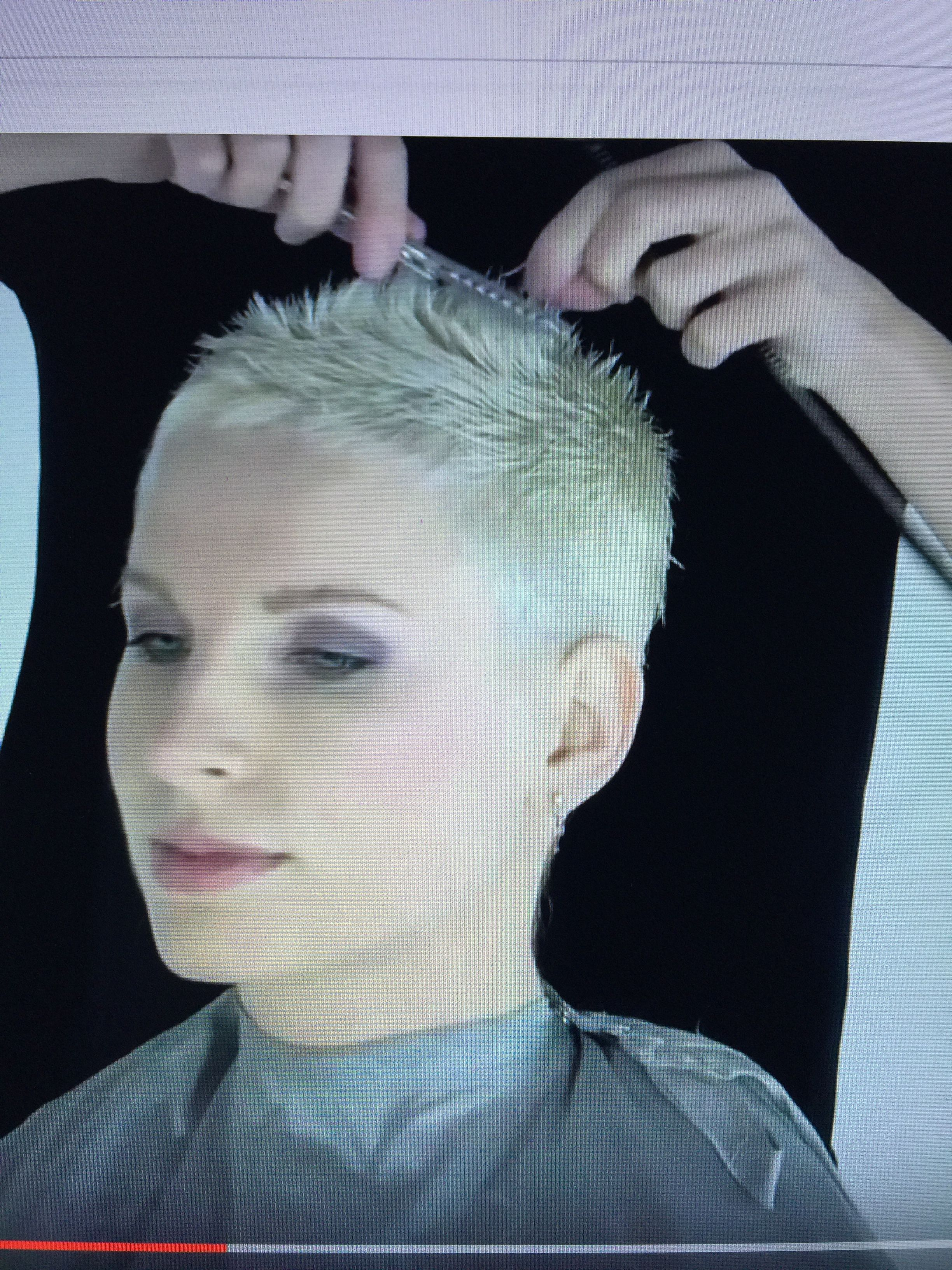 hairdare   tattoos in 2019   super short hair, hair cuts