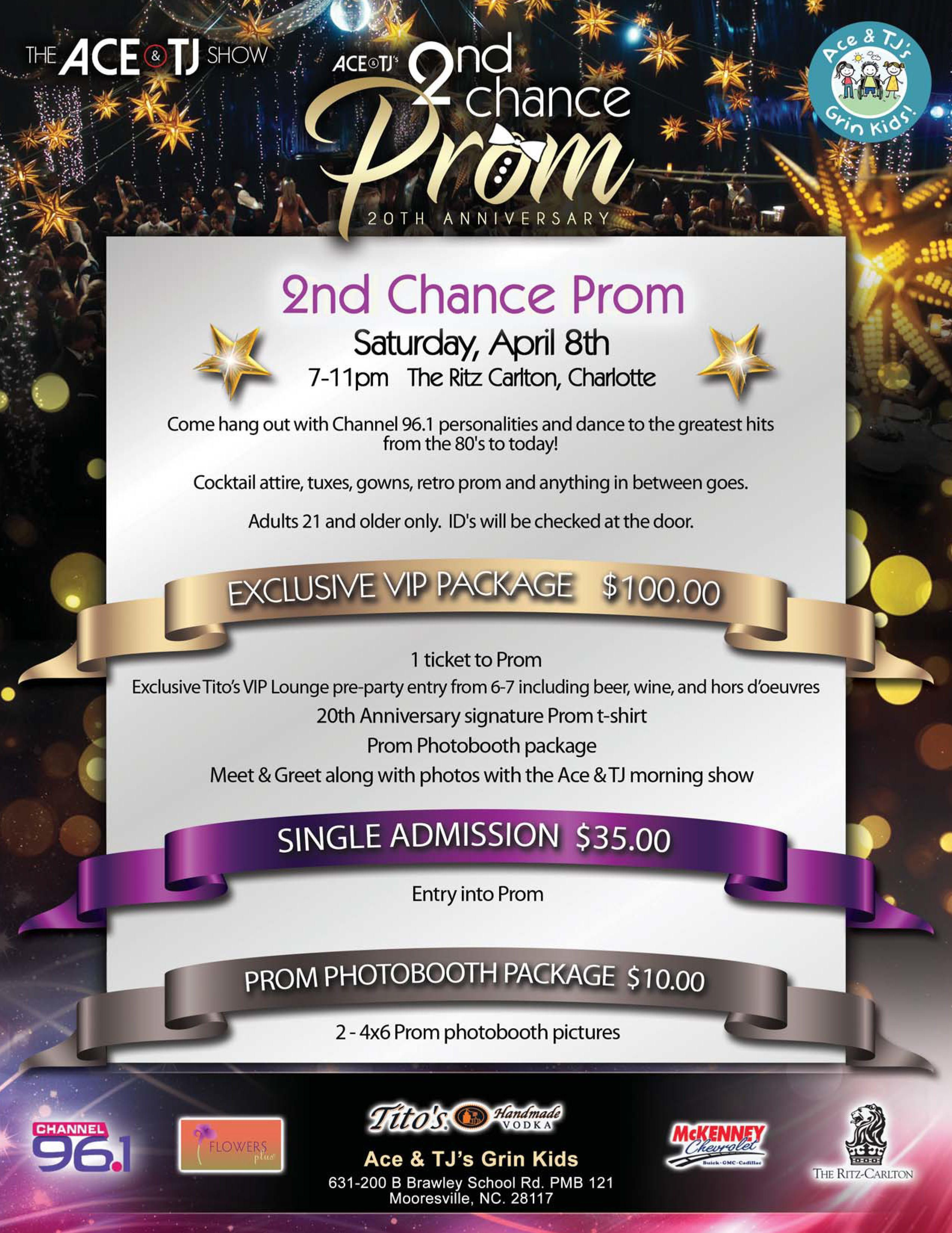 Ace Amp Tj S 2nd Chance Prom