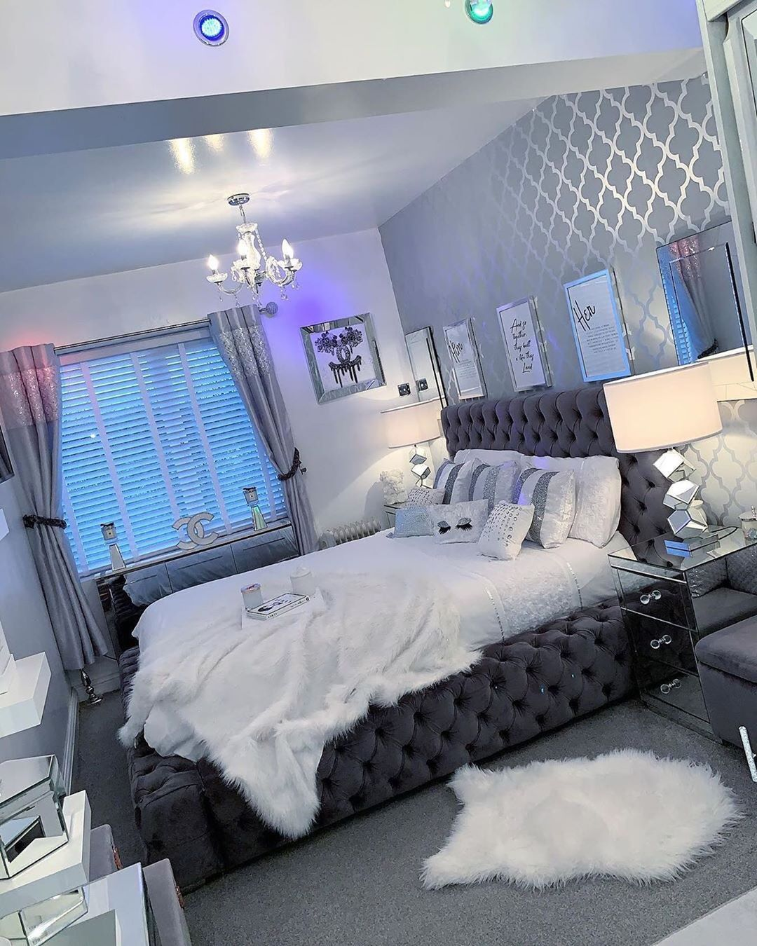 50 Grey Living Room Ideas For Gorgeous And Elegant Spaces Room Design Bedroom Luxurious Bedrooms Living Room Decor Apartment