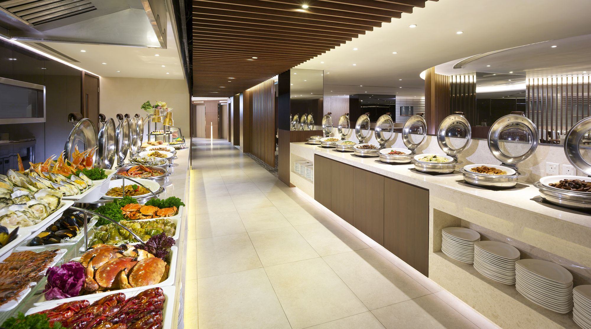 Buffet Cuisine Design Harbour Restaurant Buffet Counter 1 F The Harbourview