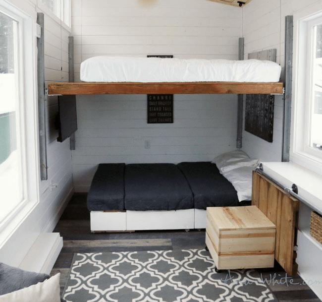 2 Bedroom Tiny House Design Ideas
