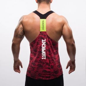 HiTeX Stringer red-camouflage | GYM AESTHETICS
