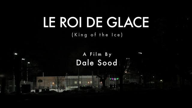 Le Roi de Glace (Film Fest Version) by Dale K. Sood. Bike ice racing on an ice hockey rink.