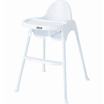 Zobo Summit High Chair White 29 99 Babies R Us Baby High Chair High Chair Chair