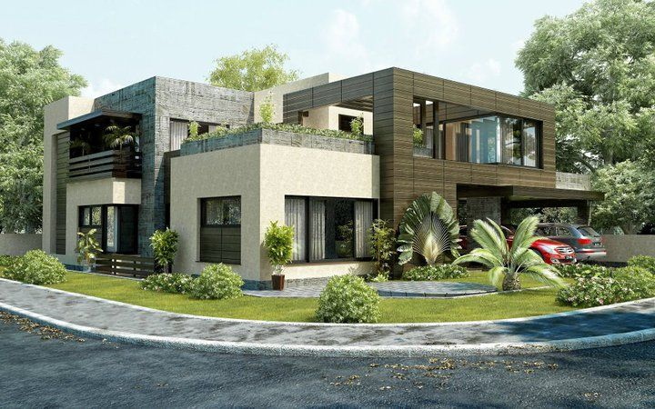 Very Modern House Plans. #modernhouse #home #sweethome