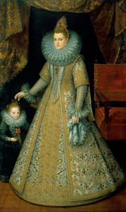 The Infanta Isabella Clara Eugenia, Archduchess of Austria, c1600. By Frans Pourbus The Younger.