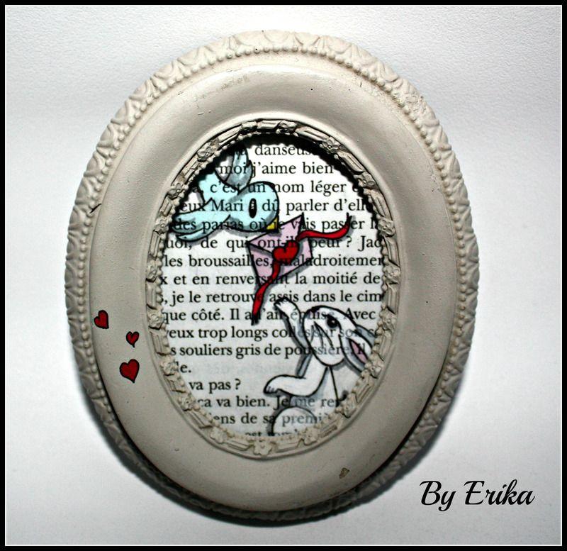 La lettre, cadre dessin promarker by Erika - tableaux, peintures - dessiner sa chambre en d