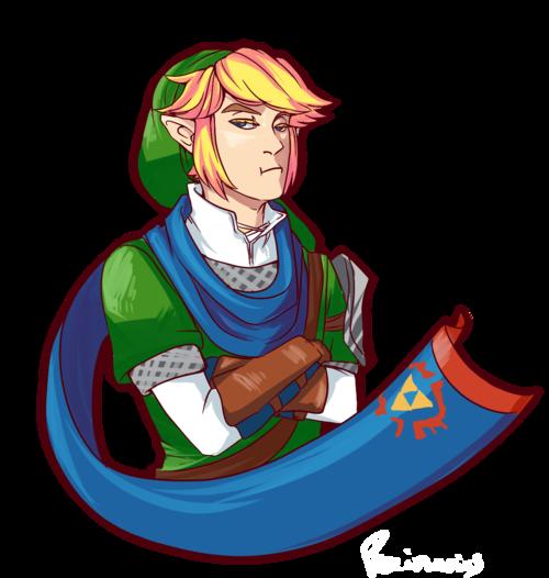 #ZeldaHW Link #WiiU