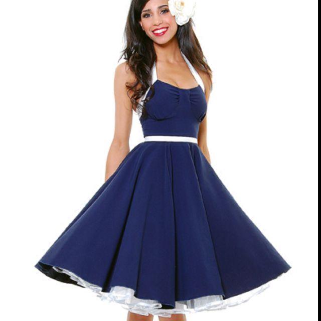 Pin-up Prom/Bridesmaids Dress | Marine meets Pin Up Wedding ...