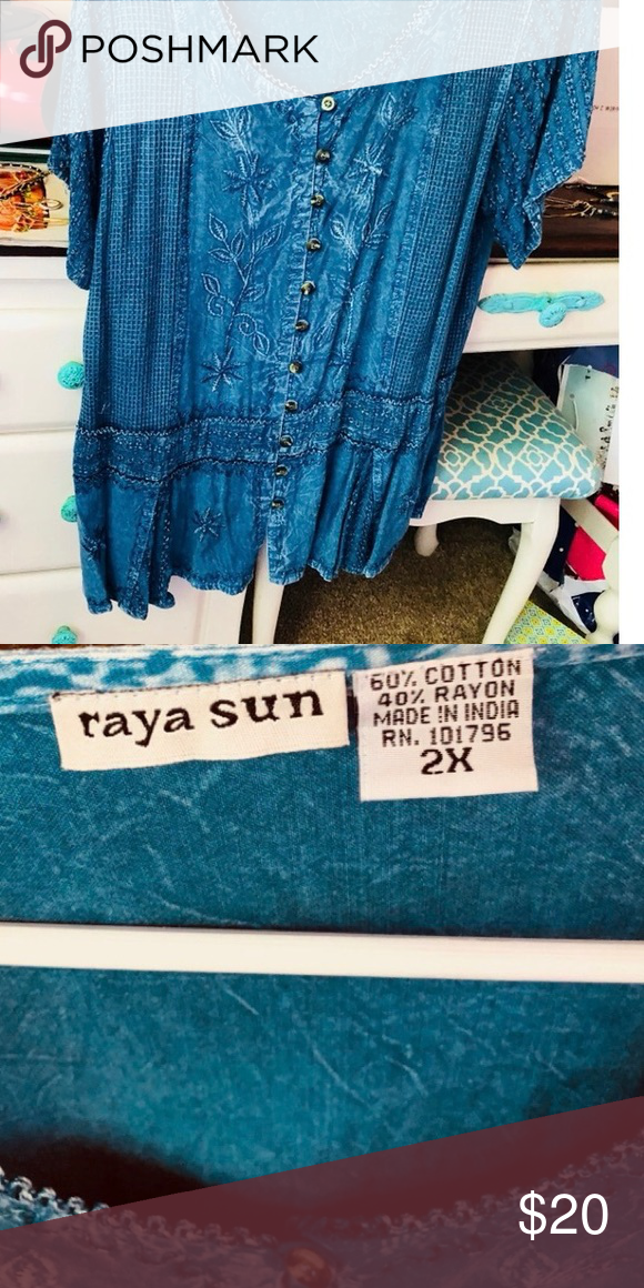 Women's Top •Condition Worn only once Raya Sun Tops