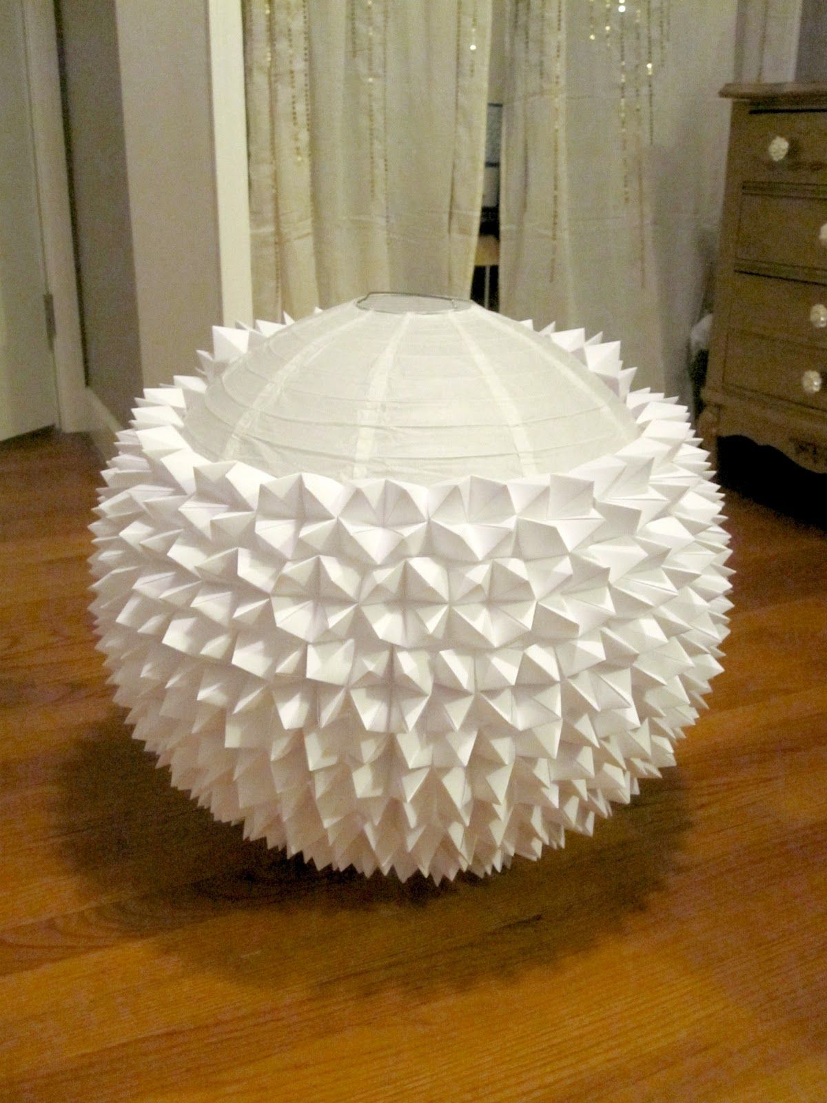 Beautifully contained fortune teller paper lantern my for Diy paper lanterns