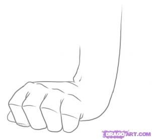 Draw A Fist Drawing Anime Hands Learning To Draw For Kids Draw
