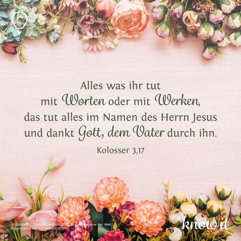 Kolosser 3 23 Spruche Handlettering Herrin